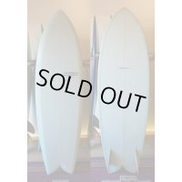 【YU SURFBOARDS】Love and Peace 5'10""
