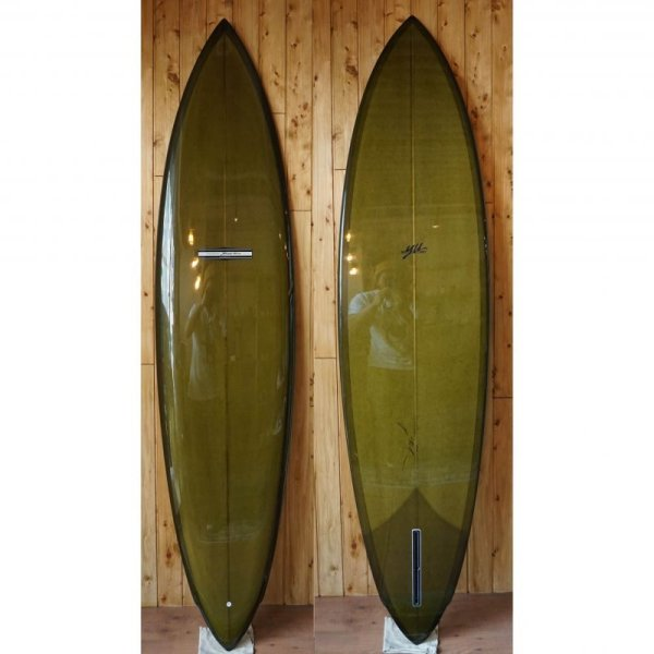 画像1: 【YU SURFBOARD】Modern single model 7.2