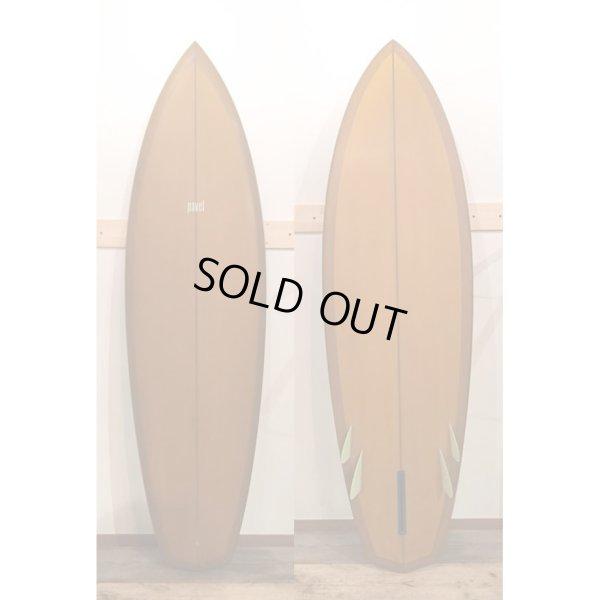 """画像1: 【RICH PAVEL SURFBOARD/リッチパベル】5fin Bonzer 6'2"""""""