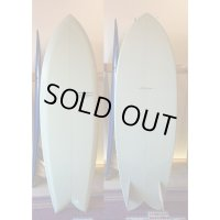 【YU SURFBOARDS】Love and Peace 5'8""