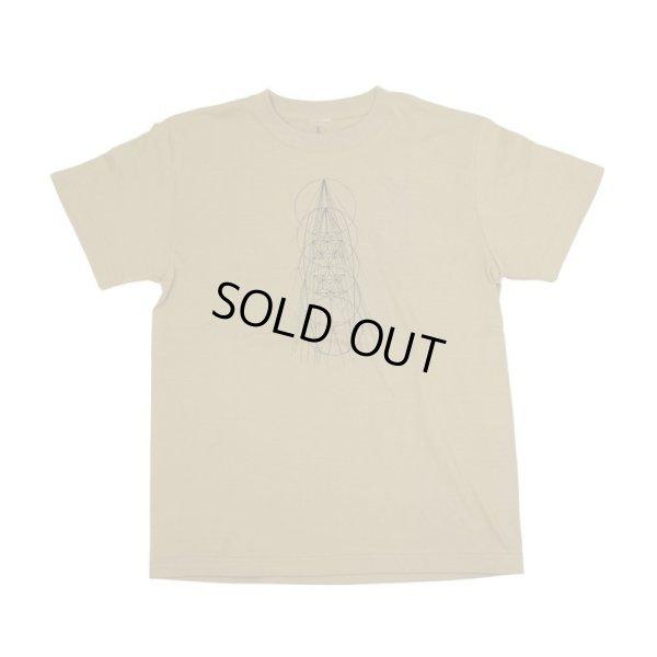 画像1: 【Mandala custom shapes/マンダラ】T-Shirt/Khaki