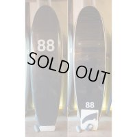 "【88 surfbords】7'0"" Single /Black"