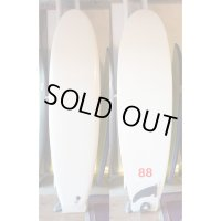 "【88 surfbords】7'0"" Single /White"