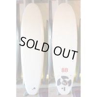 "【88 surfbords】7'0"" Thuruster /White"