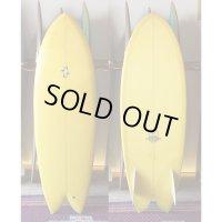 "【THOMAS BEXSON SURFDOARDS/トーマスベクソンサーフボード】Twinkeel Fish5'6"""