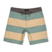 30%OFF【BRIXTON/ブリクストン】BARGE STRIPE TRUNK/GREEN BAY