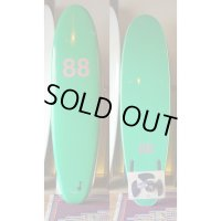 "【88 surfbords】7'0"" Thuruster /Green-Green"