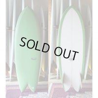 20%OFF【THOMAS BEXSON SURFDOARDS/トーマスベクソンサーフボード】Twinkeel Fish5'6""