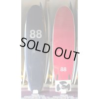 "【88 surfbords】7'0"" Thuruster /Navy-Red"