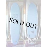 "【88 surfbords】7'0"" Thuruster /Blue-Blue"