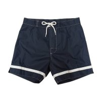 "30%OFF【Yellow Rat】""Cross Bar Weave Trunks/Navy"