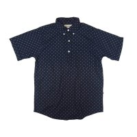 30%OFF【Yellow Rat】Short Sleeve Pull-over B.D Shirts/Navy