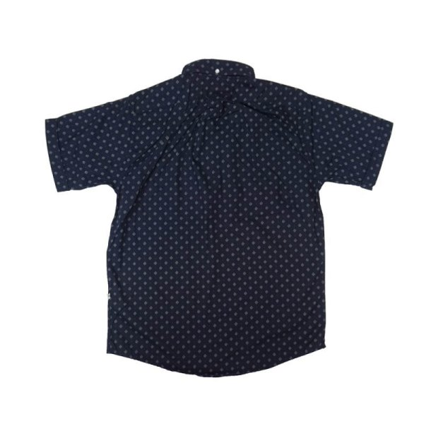 画像2: 30%OFF【Yellow Rat】Short Sleeve Pull-over B.D Shirts/Navy