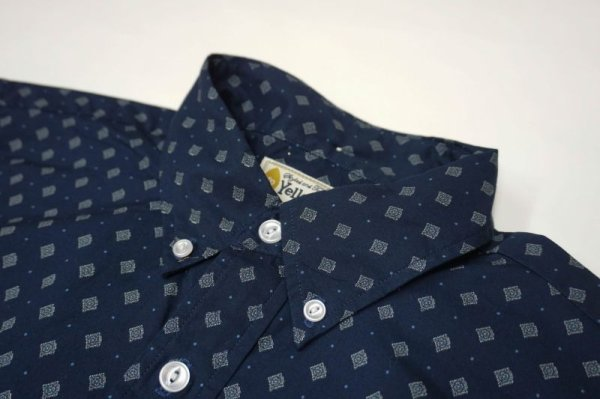 画像3: 30%OFF【Yellow Rat】Short Sleeve Pull-over B.D Shirts/Navy