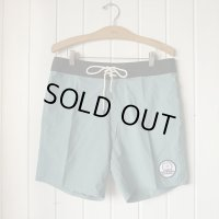 【THOMAS BEXSON SURFDOARDS/トーマスベクソンサーフボード】Board Shorts/Teal w Black waist band /32