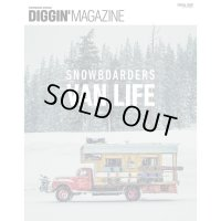 【Diggin' MAGAZINE】SNOWBOARDERS VAN LIFE