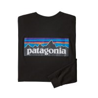 【PATAGONIA/パタゴニア】メンズ・ロングスリーブ・P-6ロゴ・レスポンシビリティー/Black (BLK)