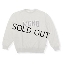 20%OFF【MAGIC NUMBER/マジックナンバー】COLLEGE LOGO SWEAT CREW/L