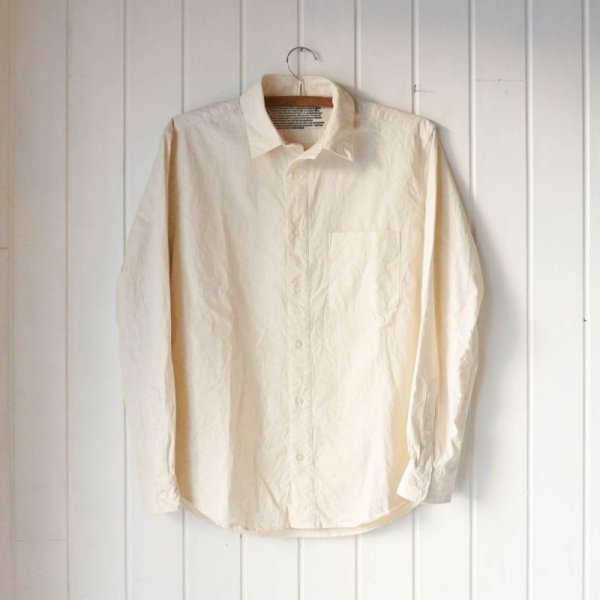 画像1: 【S&Y WORKSHOP】COTTON LINEN SHIRT