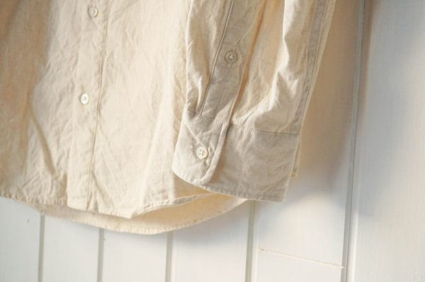 画像4: 【S&Y WORKSHOP】COTTON LINEN SHIRT