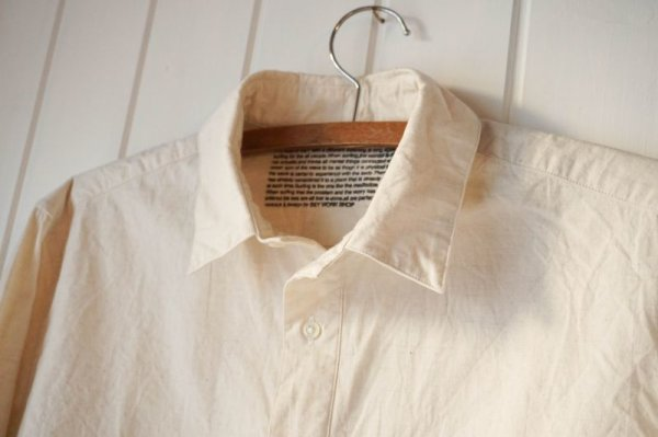 画像3: 【S&Y WORKSHOP】COTTON LINEN SHIRT