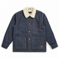 20%OFF【BRIXTON/ブリクストン】YARD SHERPA DENIM JACKET - RAW INDIGO