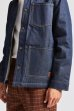 画像10: 20%OFF【BRIXTON/ブリクストン】YARD SHERPA DENIM JACKET - RAW INDIGO