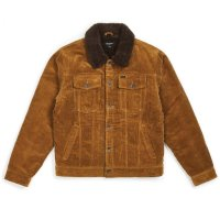 【BRIXTON/ブリクストン】CABLE SHERPA JACKET - BRASS