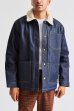 画像7: 20%OFF【BRIXTON/ブリクストン】YARD SHERPA DENIM JACKET - RAW INDIGO