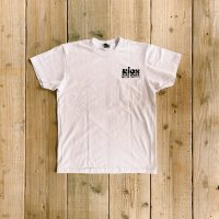 【Yellow Rat】Pocket T-Shirt Ding3 Barry McGee/White