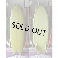 "【THOMAS BEXSON SURFDOARDS/トーマスベクソンサーフボード】Twinkeel Fish5'8"" Japan Shaping"