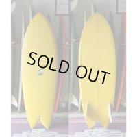 "【THOMAS BEXSON SURFDOARDS/トーマスベクソンサーフボード】Twinkeel Fish5'6"" Japan Shaping"