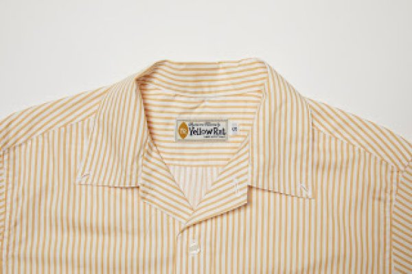 画像4: 【Yellow Rat】Convertible Collar Button Down Shirts/Wheat