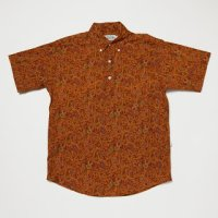 【Yellow Rat】Pull Over Button Down Shirts/Harvest