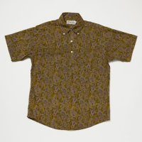 【Yellow Rat】Pull Over Button Down Shirts/Green