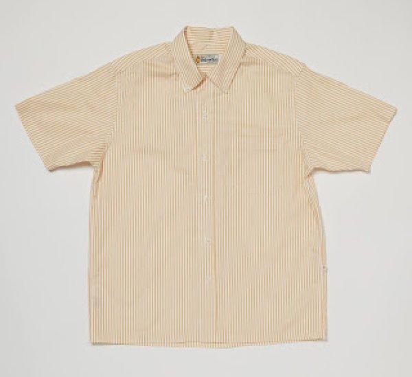 画像1: 【Yellow Rat】Convertible Collar Button Down Shirts/Wheat