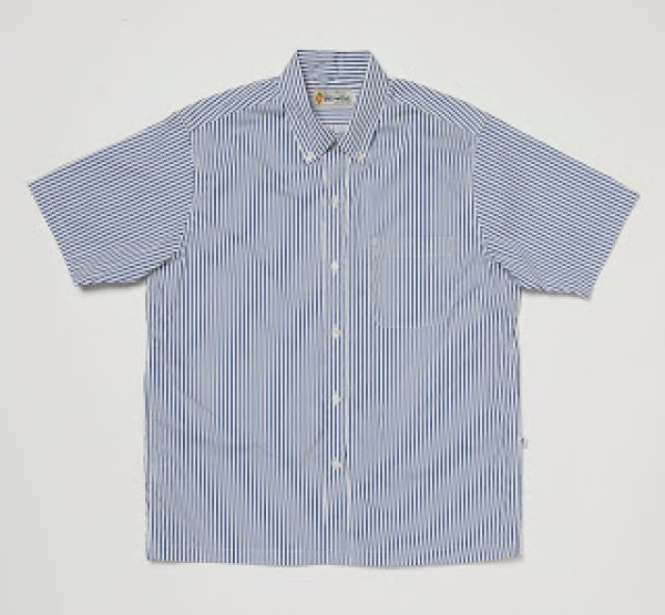 画像1: 【Yellow Rat】Convertible Collar Button Down Shirts/Royal