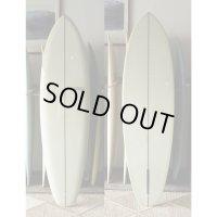"""【YU SURFBOARDS】Diamond Tail Single 6'8"""""""