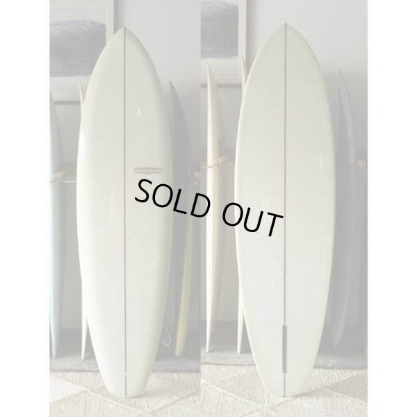 "画像1: 【YU SURFBOARDS】Diamond Tail Single 6'8"""