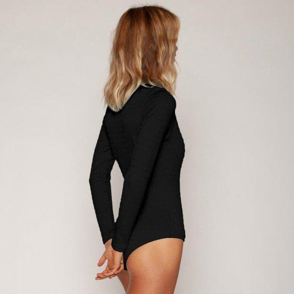 画像2: 【Seea/シーア】Mimi Surf Suit - Obsidian