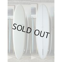 """【YU SURFBOARDS】Flat Deck Glide Single 7'6"""""""