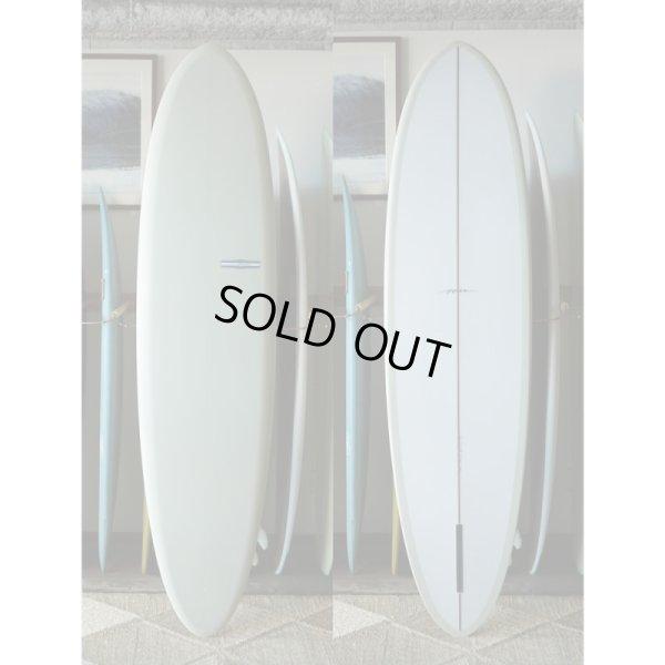 """画像1: 【YU SURFBOARDS】Flat Deck Glide Single 7'6"""""""