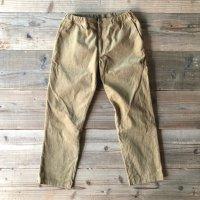 """【S&Y WORKSHOP 】ORIGINAL / Easy Trousers """"Corduroy""""/BEIGE"""