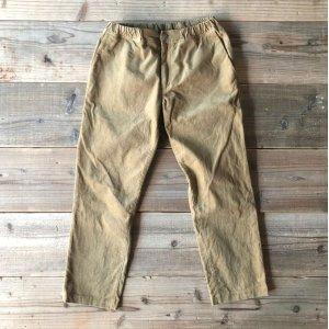 """画像: 【S&Y WORKSHOP 】ORIGINAL / Easy Trousers """"Corduroy""""/BEIGE"""