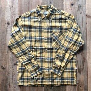 画像: 【Yellow Rat】Convertible Collar Button Down Shirt /Yellow - Navy