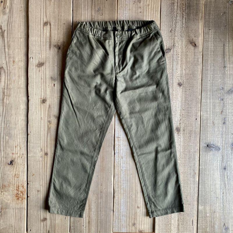 画像1: 【S&Y WORKSHOP】ORIGINAL / Easy Trousers/Olive