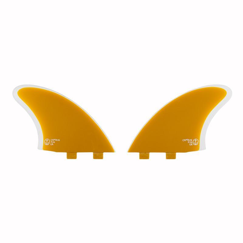 画像1: 【CAPTAIN FIN/キャプテンフィン】CF Keel Yellow (Twin Tab)