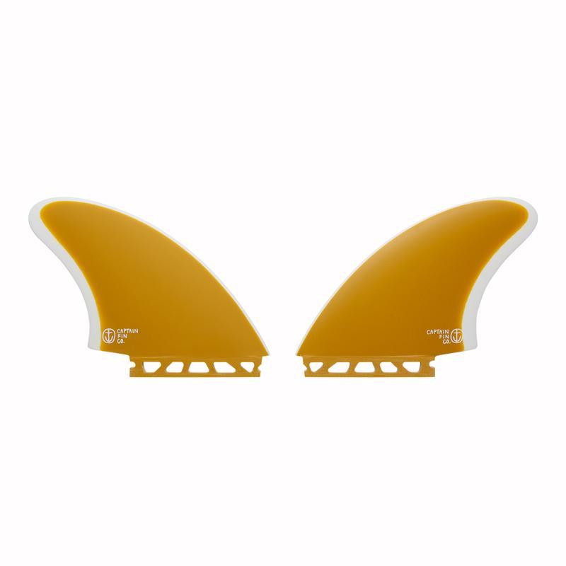 画像1: 【CAPTAIN FIN/キャプテンフィン】CF Keel Yellow (Single Tab)