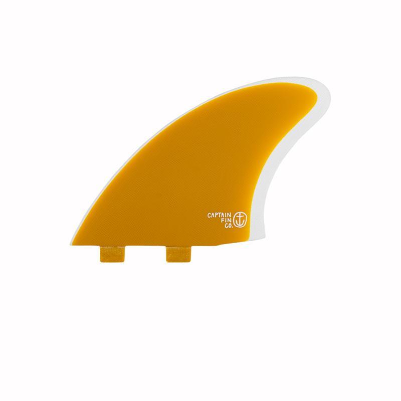 画像2: 【CAPTAIN FIN/キャプテンフィン】CF Keel Yellow (Twin Tab)